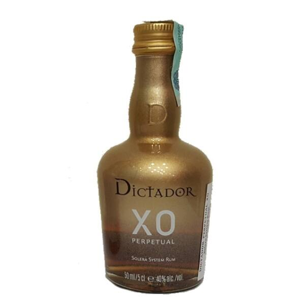 Dictador XO Perpetual mini 0,05 40% arany, gold edt.