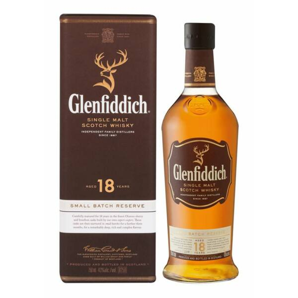Glenfiddich Reserve 18 years whisky 0,7L 40%