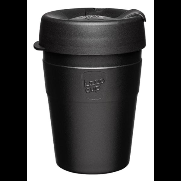KeepCup Thermal Café rozsdamentes acél pohár kávés termosz BLACK 360 ml