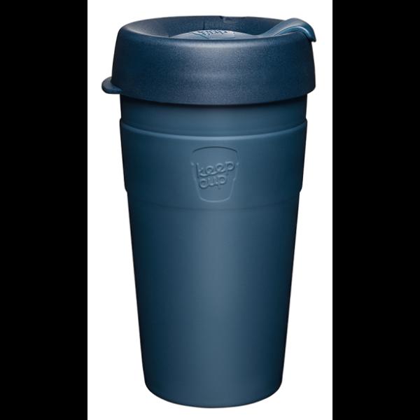 KeepCup Thermal Café rozsdamentes acél pohár kávés termosz SPRUCE 454 ml