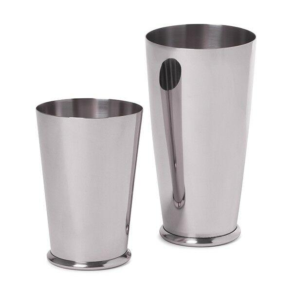 Leopold súlyozott Boston shaker és pohár szett ezüst