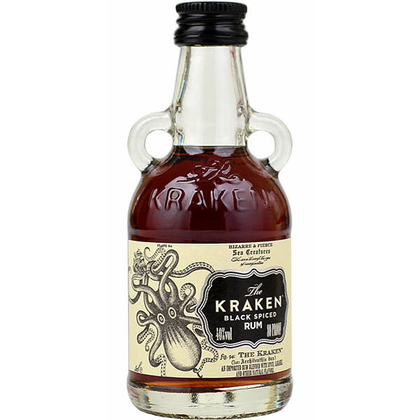 Kraken Black Spiced mini 47% 0,05L