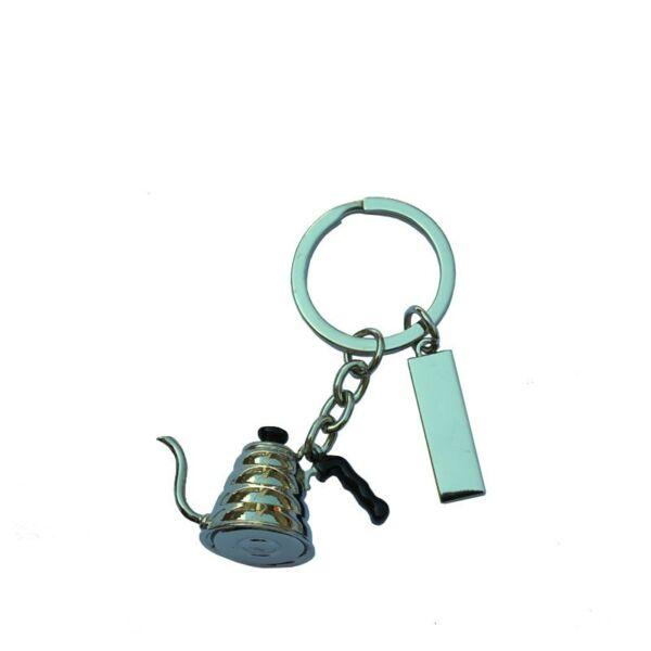 Kulcstartó kettle vízforraló króm