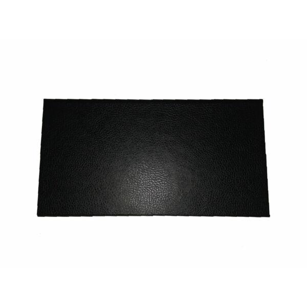 Logózható számlatartó mappa - csáró 200x105mm bőrhatású fekete