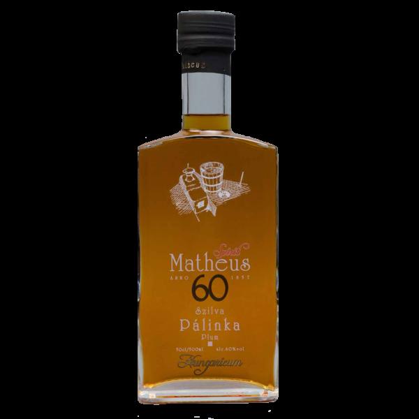 Matheus Spirit szilva pálinka 0,5L 60%