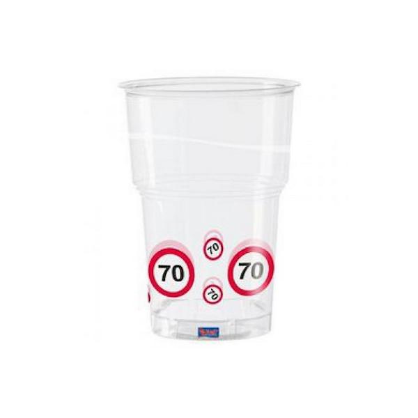 Lépd át a határt pohár 70.születésnapra 350 ml 10 db/cs