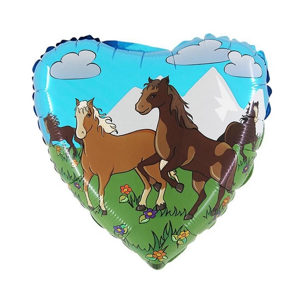 45 cm-es fólia lufi, lovas