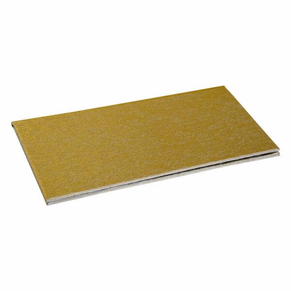 Logózható számlatartó mappa - csáró 200x105mm arany