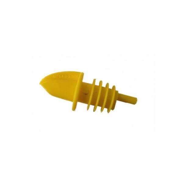 The Bars műanyag kiöntő dugó sárga