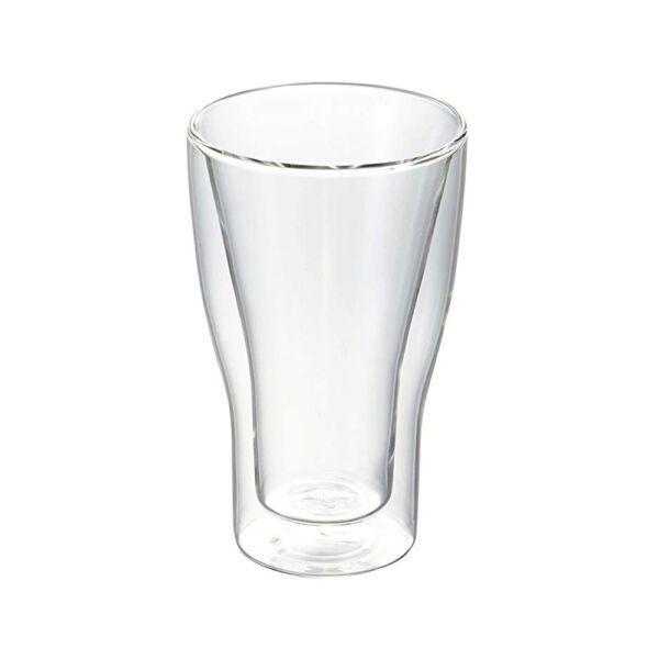 Duplafalú thermic latte macchiato pohár szett 340ml 2db/cs