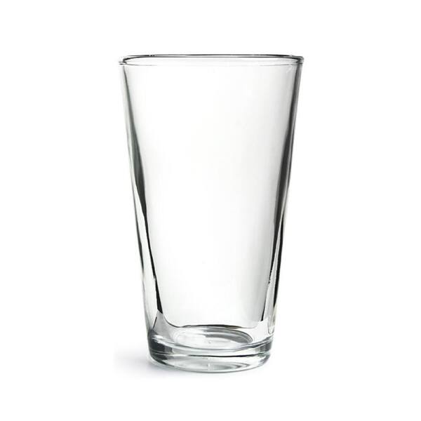 Üveg keverőpohár boston koktél shakerhez
