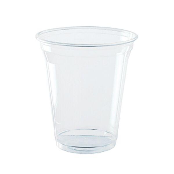 3 dl PLA biológiailag lebomló, komposztálódó öko pohár szintjelöléssel 75db/csomag