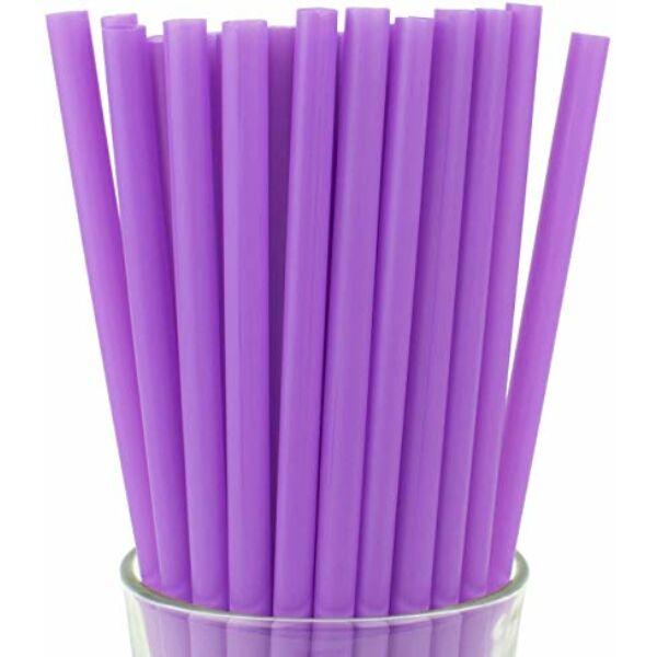Extra vastag lila szívószál 250db/cs