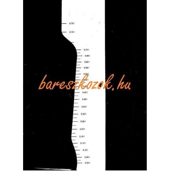 Standoló lap Borosüveg hosszú nyakú 0,75L