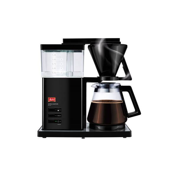 Melitta Aroma Signature DeLuxe fekete - Filter kávéfőző