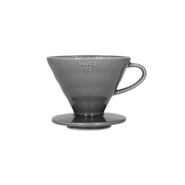 Hario V60-02 kerámia kávécsepegtető szürke