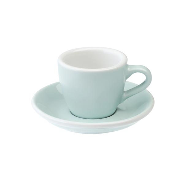 Loveramics egg világoskék 80 ml eszpresszó csésze és csészealj